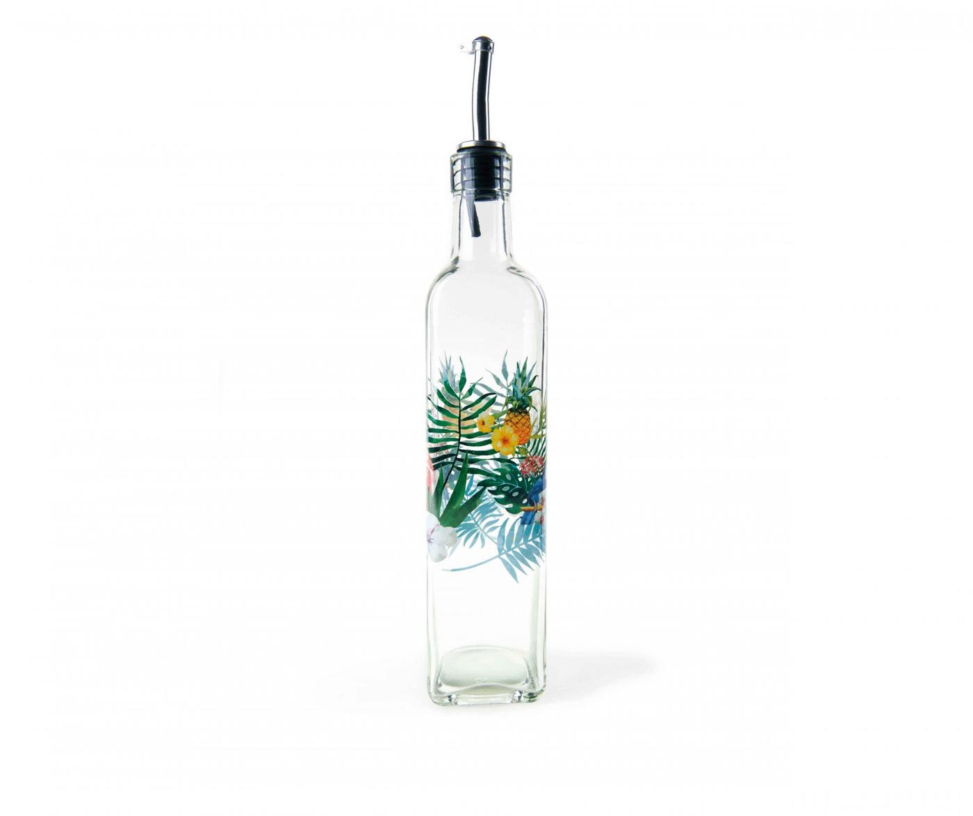 Recipient pentru ulei sau otet Tropical Design 473 ml