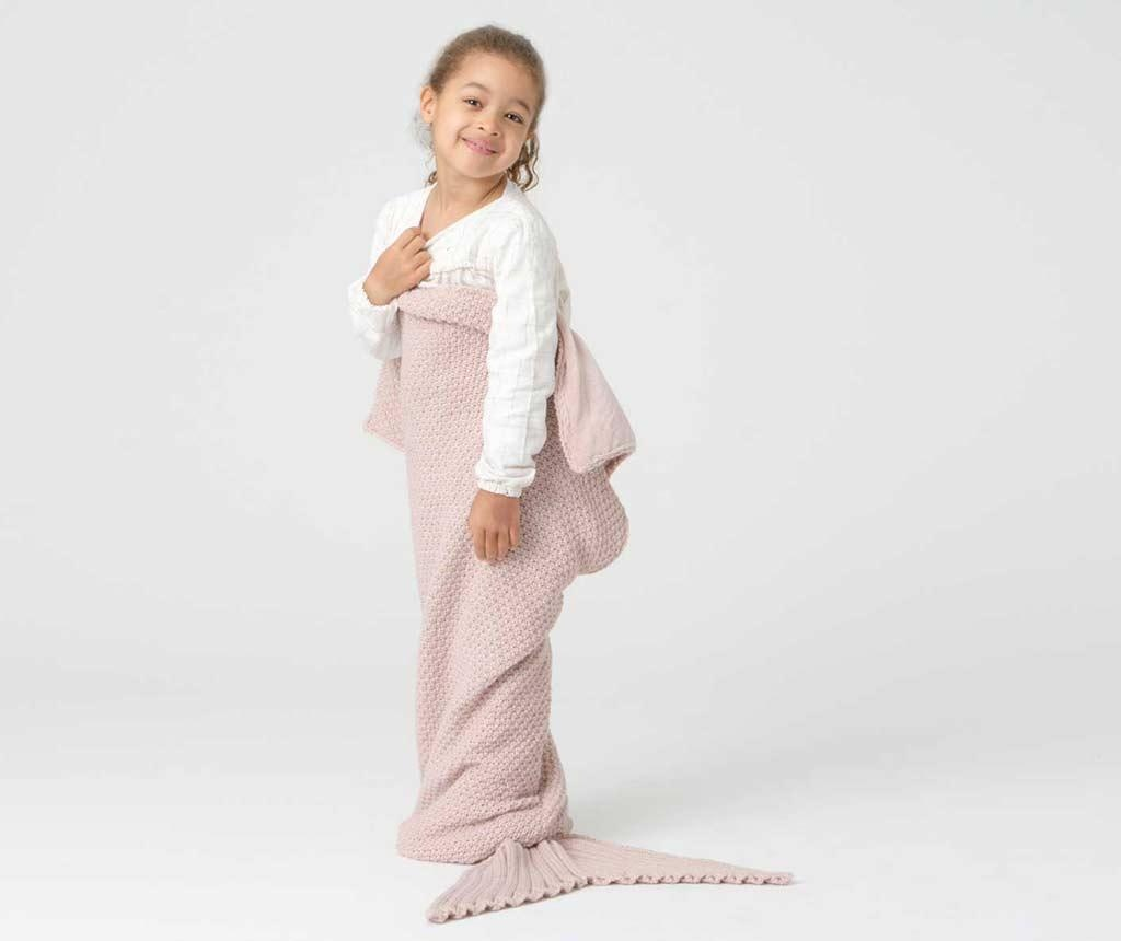 Pokrivač Mermaid Pink 33x105 cm