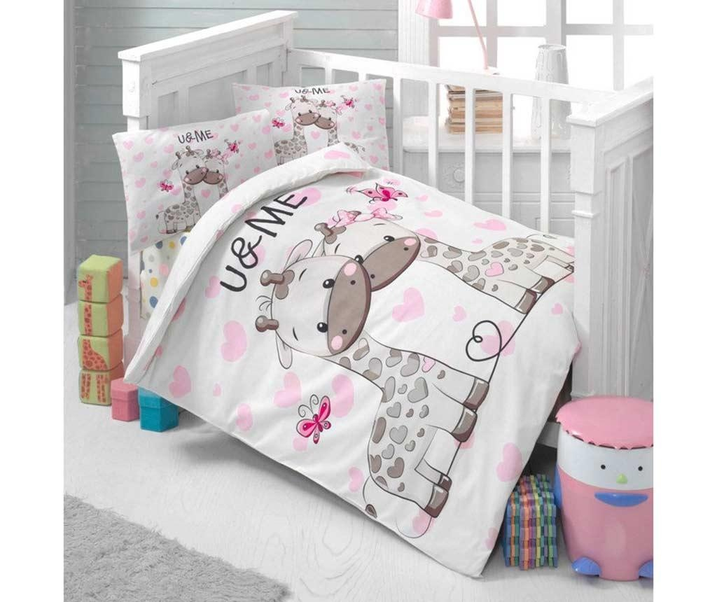 Posteljina za krevetić Ranforce Sweet 100x150