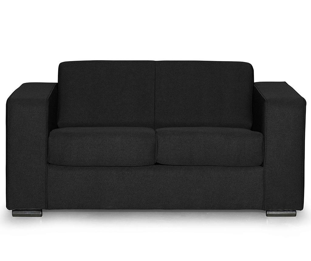 Canapea 2 locuri Ava Bladen Black