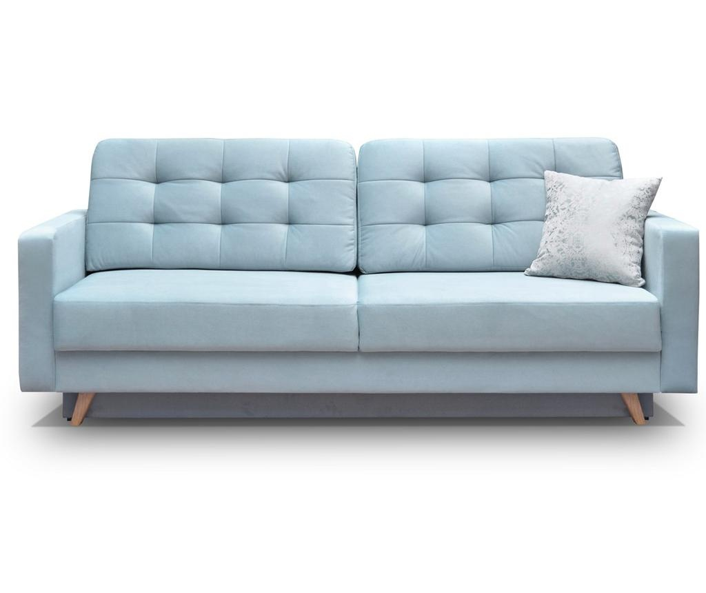 Canapea extensibila cu 3 locuri Vegas Blue