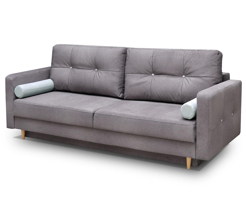Canapea extensibila Oslo Grey