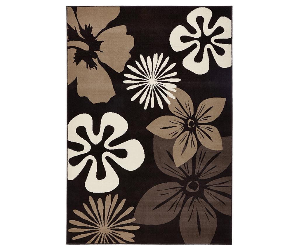 Covor Flowers Brown 80x150 cm