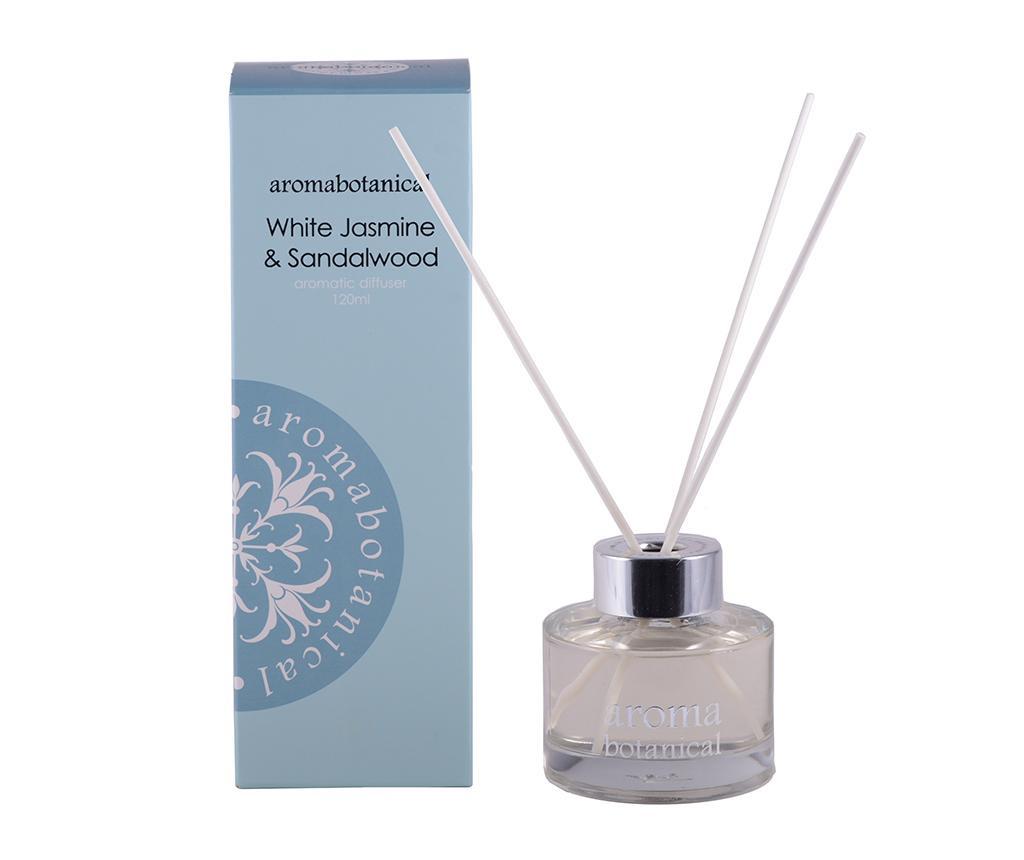 Botanical White Jasmine & Sandalwood Szobaillatosító és pálcikák 120 ml