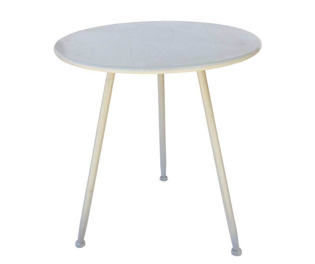 Stolić za vanjski prostor Piedi White