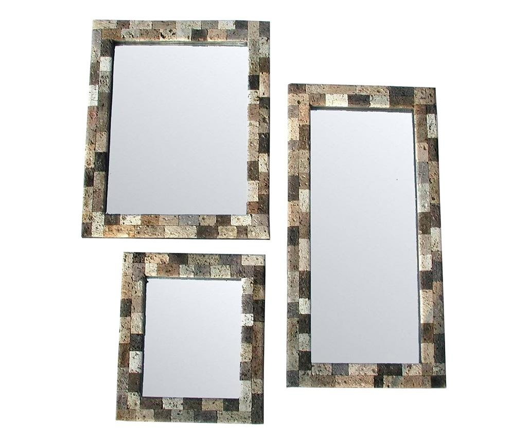 Set 3 oglinzi Liscio