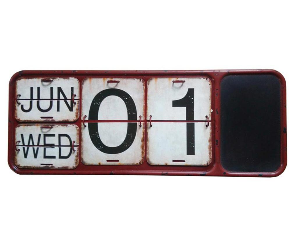 Kalendarz z tablicą do pisania Long