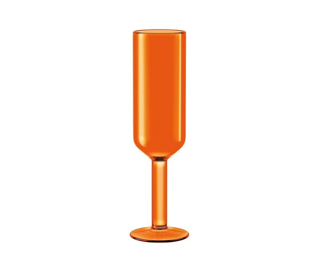 Pahar pentru sampanie The Good Times Orange 160 ml