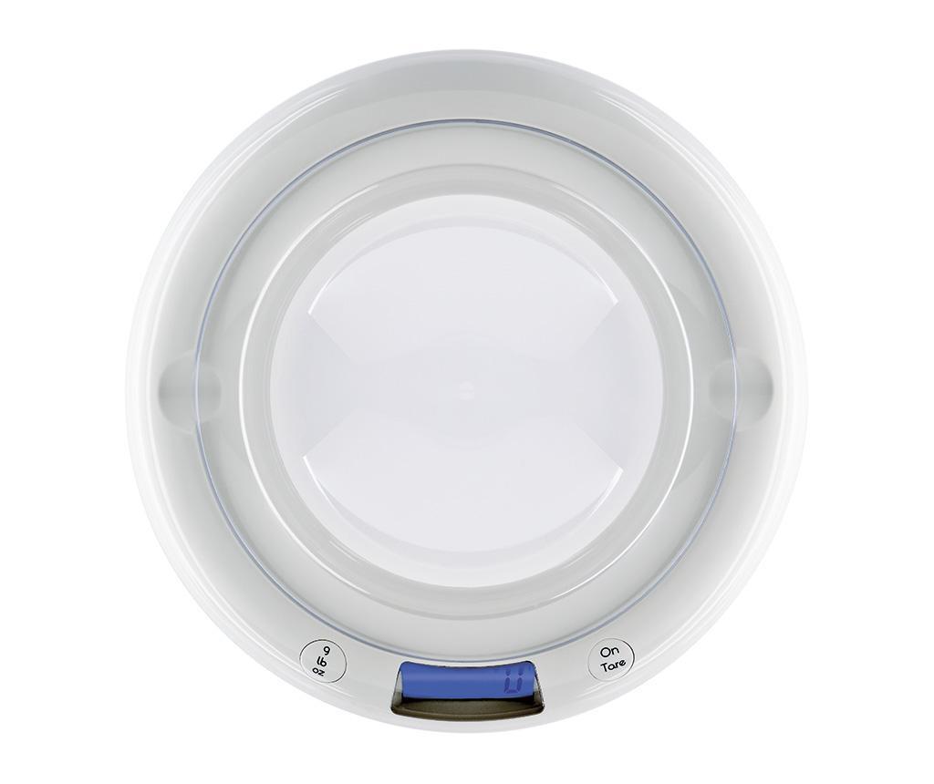 Bubble White Digitális konyhai mérleg