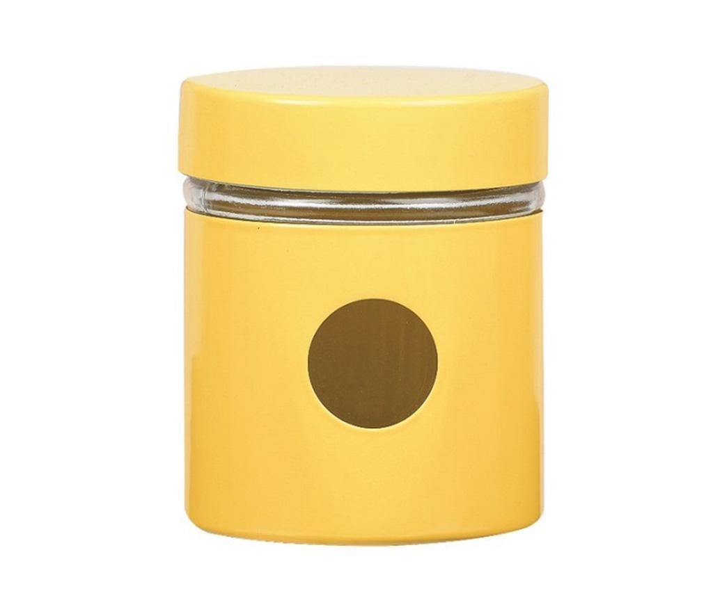 Posuda s  poklopcem Sasha Yellow 300 ml