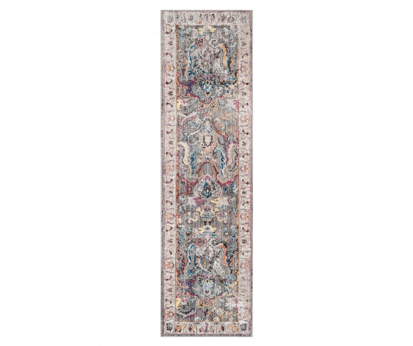 Tepih Myra Grey and Ivory 62x240 cm