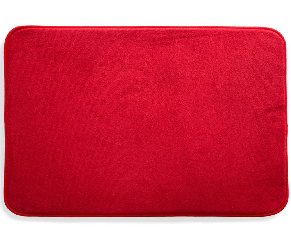 Covoras de baie Aris Red 60x90 cm