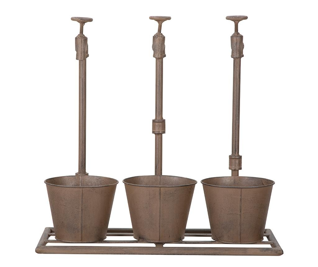 Držač za posude za cvijeće Industrial Triple