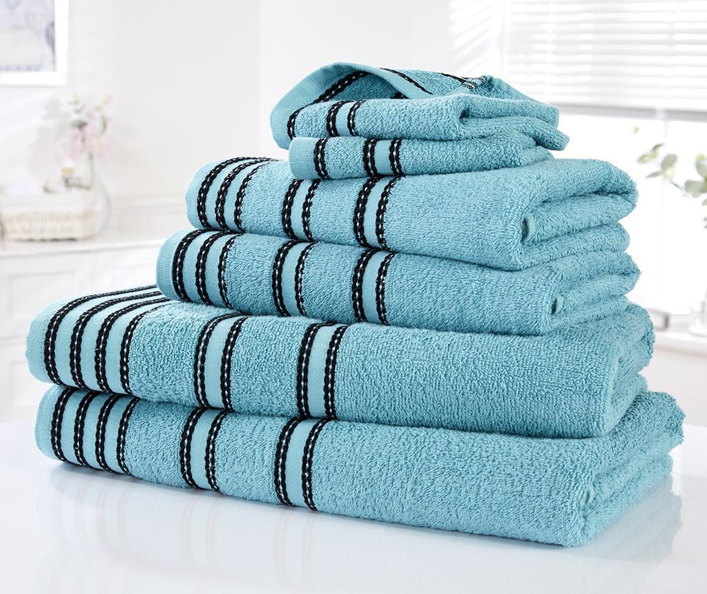 Sirocco Turquoise 6 db Fürdőszobai törölköző