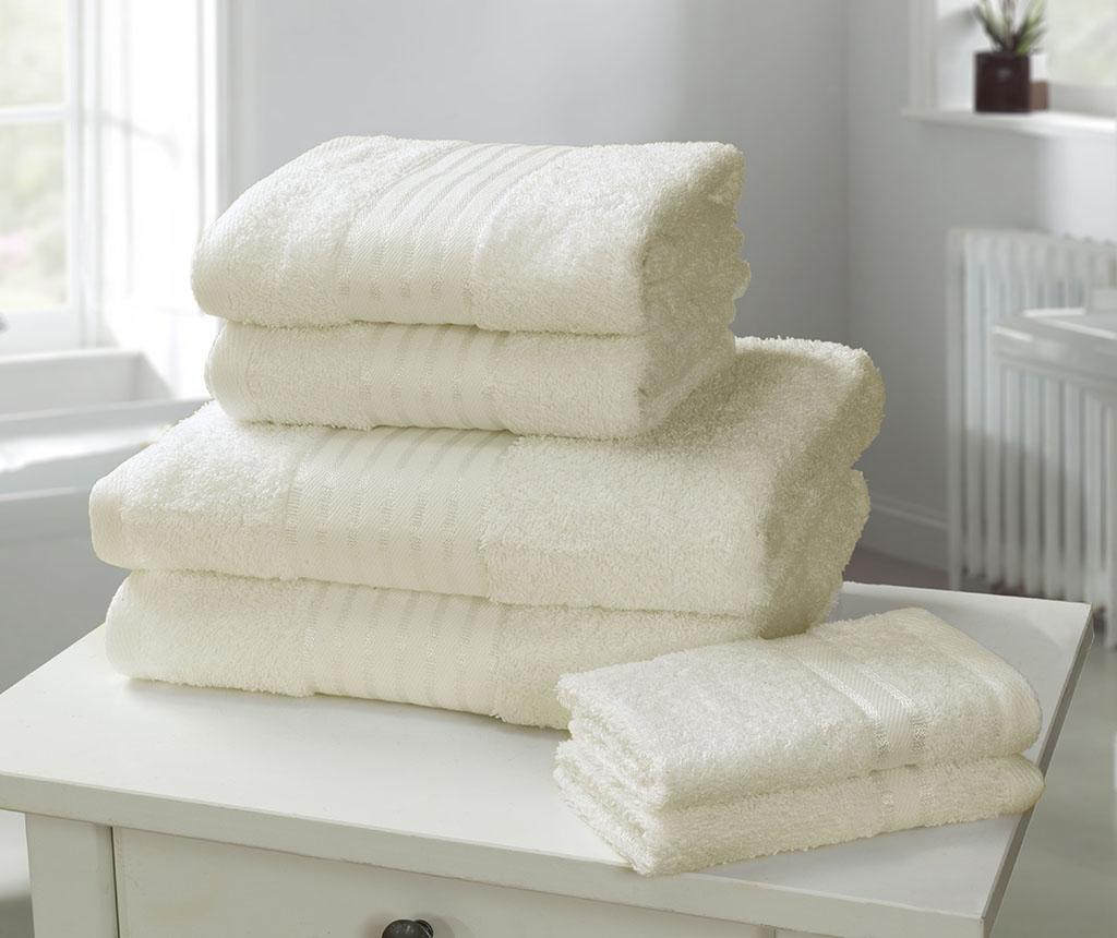 Set 6 kupaonskih ručnika Windsor Cream