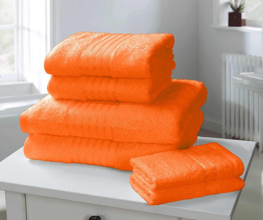 Set 6 kupaonskih ručnika Windsor Orange
