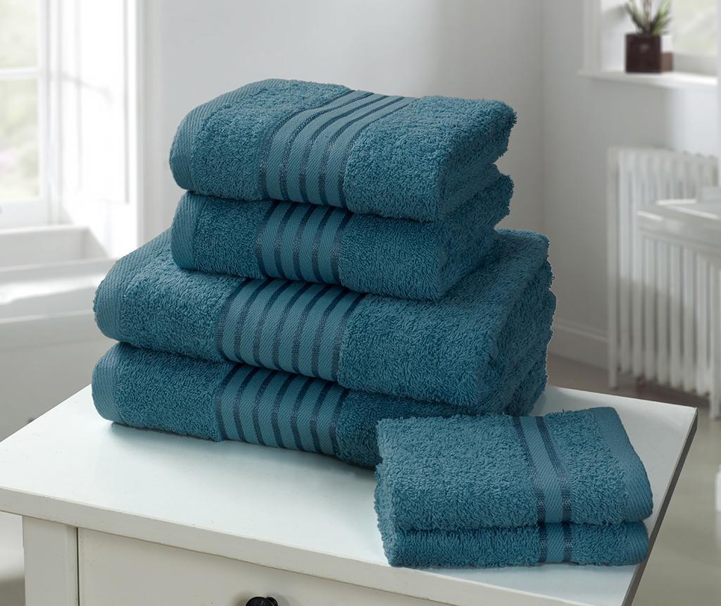 Set 6 kupaonskih ručnika Windsor Teal