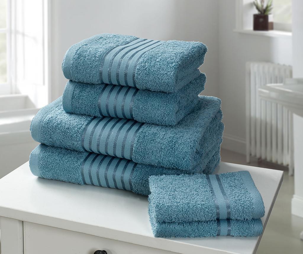Set 6 kupaonskih ručnika Windsor Turquoise