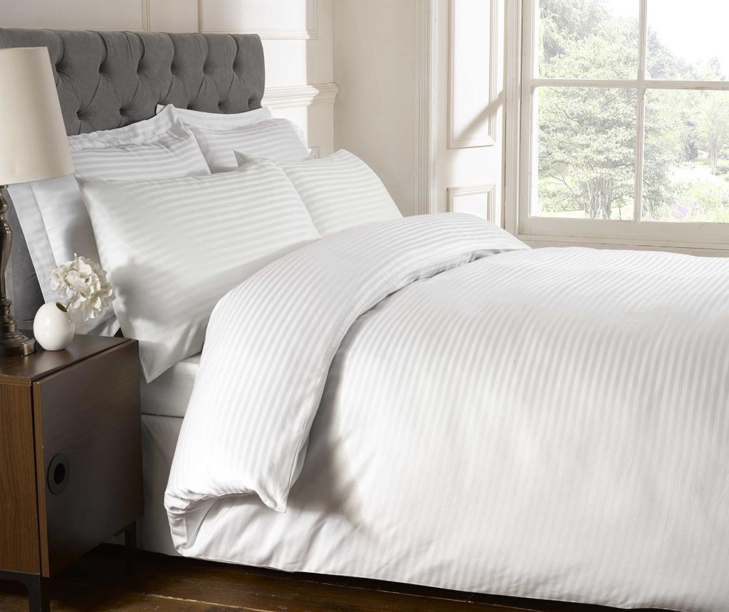Plahta s elastičnom gumicom Brighton Hill Premium White 90x190 cm