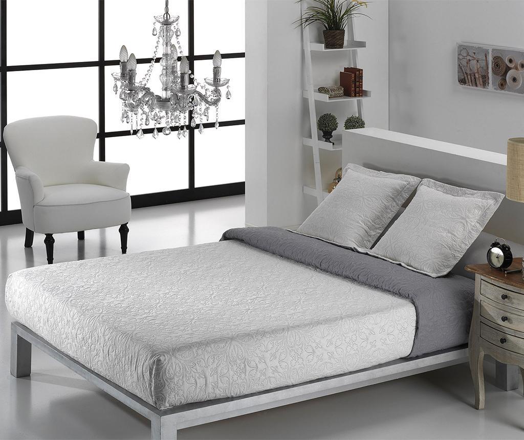Set - posteljno pregrinjalo Single Alma Twice Grey