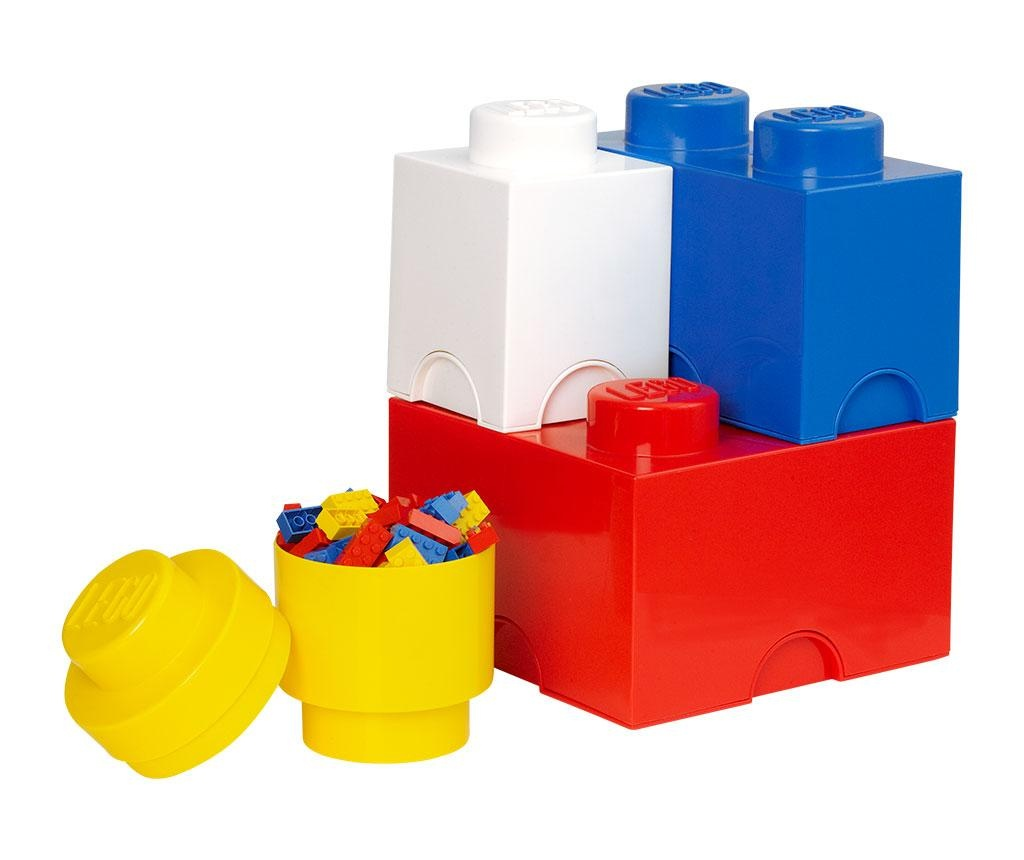 Lego Mix 4 db Doboz fedővel