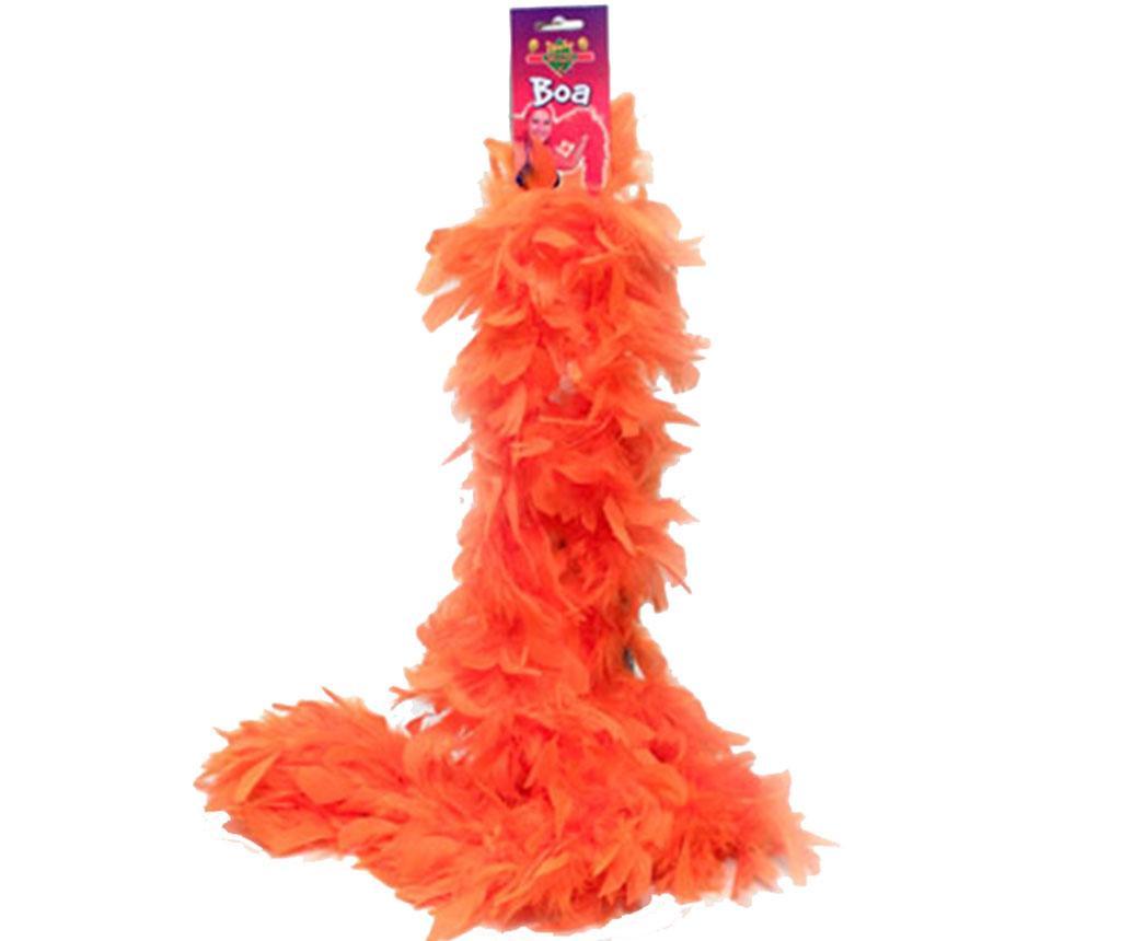 Decoratiune Feather Boa Orange