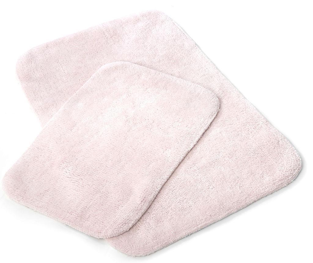 Set 2 kopalniških preprog Tile Pink