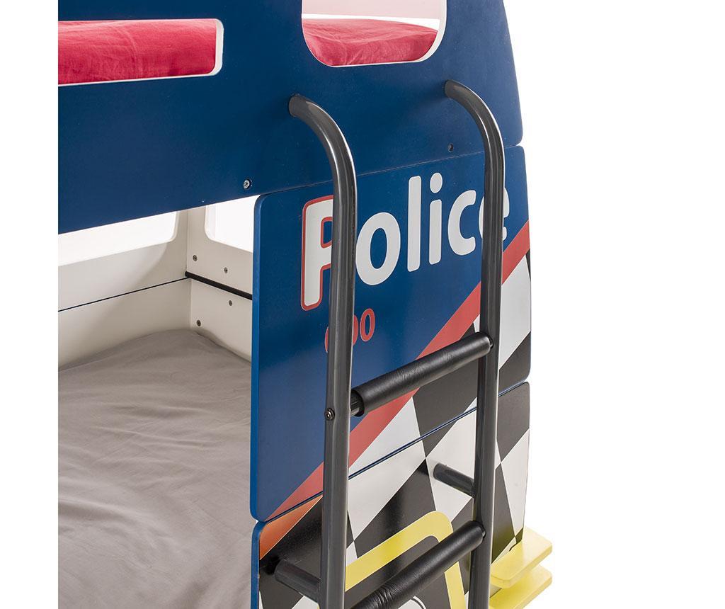 Dječji krevet na kat Police