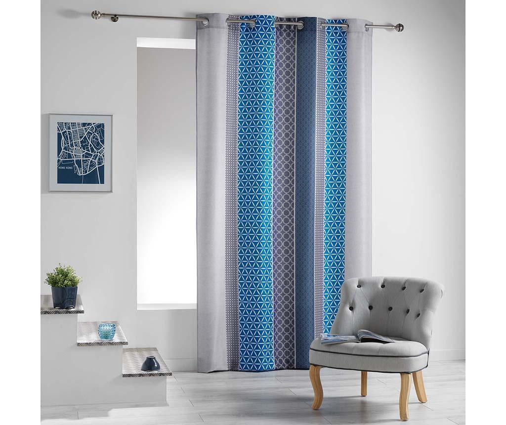Draperie Galliance Blue 140x260 cm