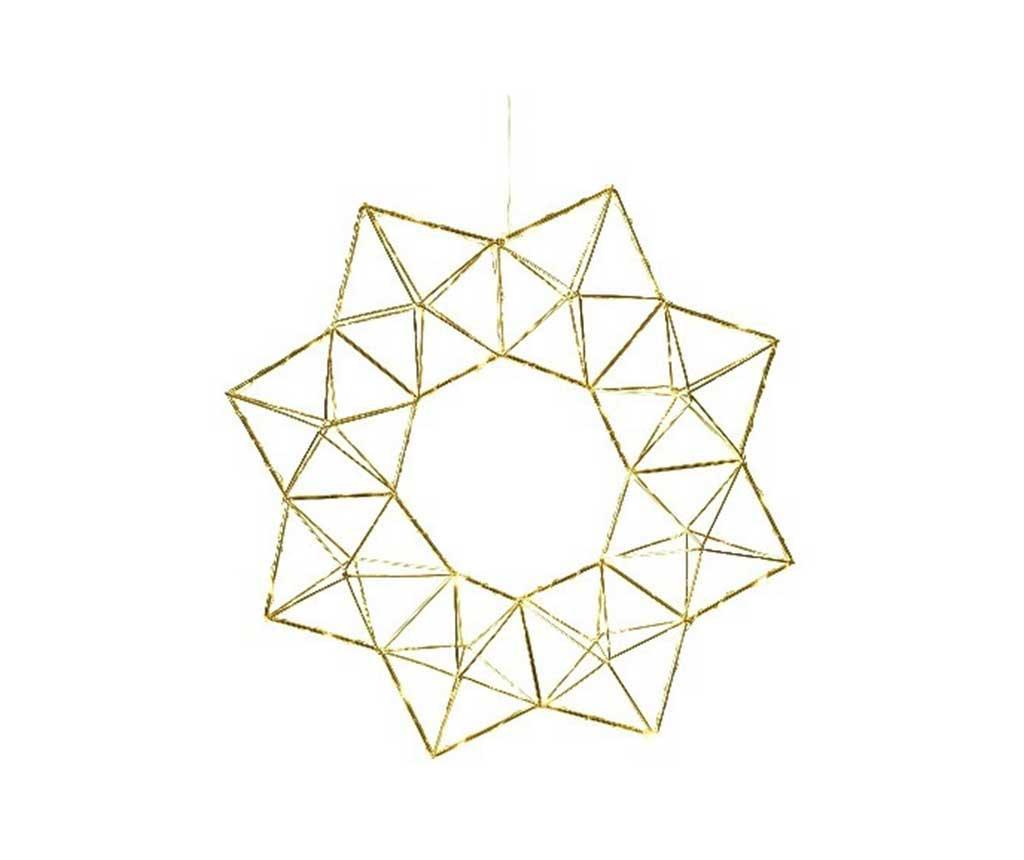 Decoratiune luminoasa suspendabila Edge Brass