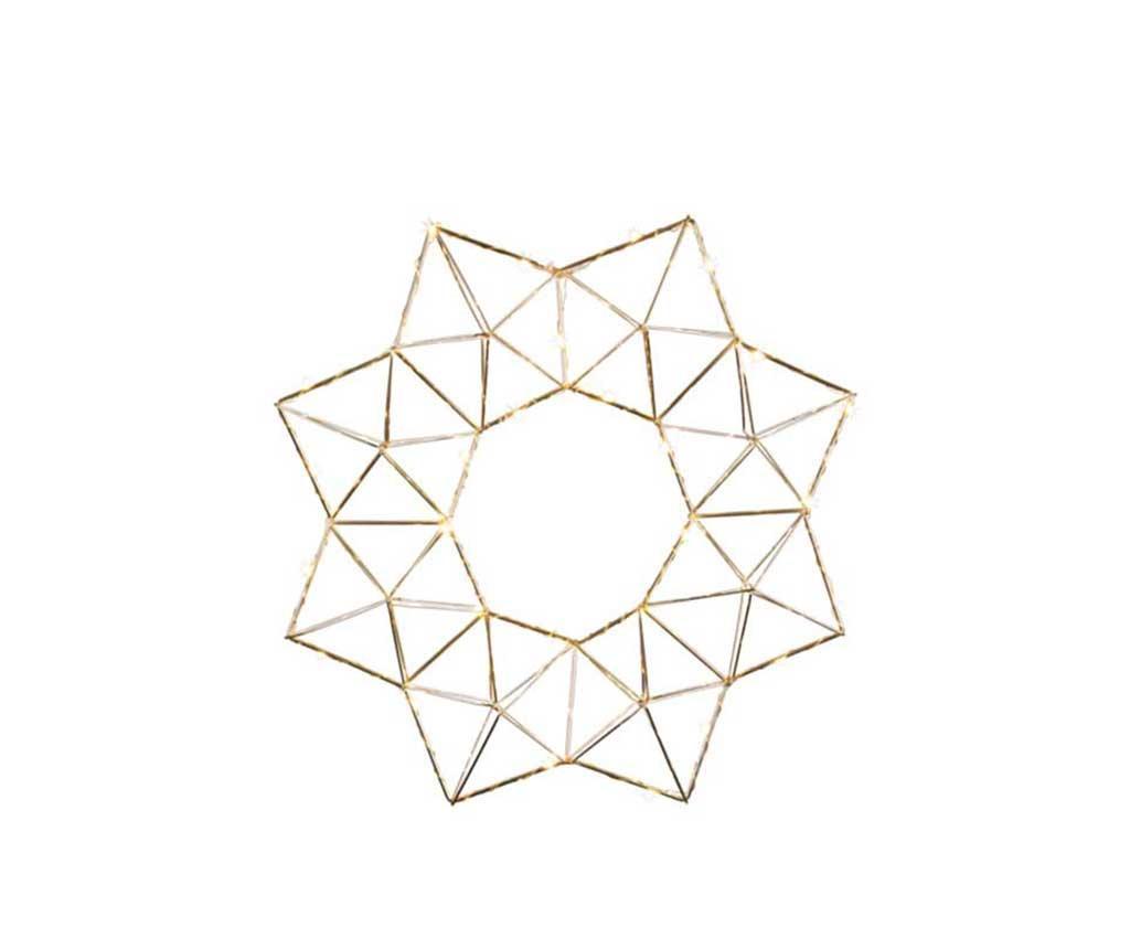 Decoratiune luminoasa suspendabila Edge Copper