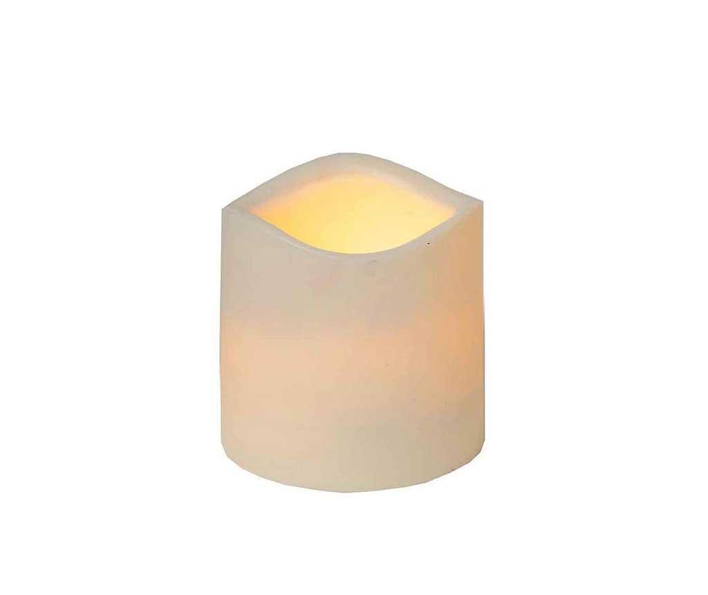 Svijeća sa LED-om za vanjski prostor White Lights