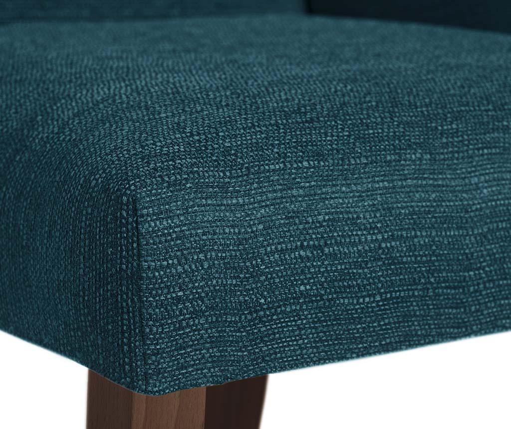 Set 4 scaune Absolu Brown Turquoise
