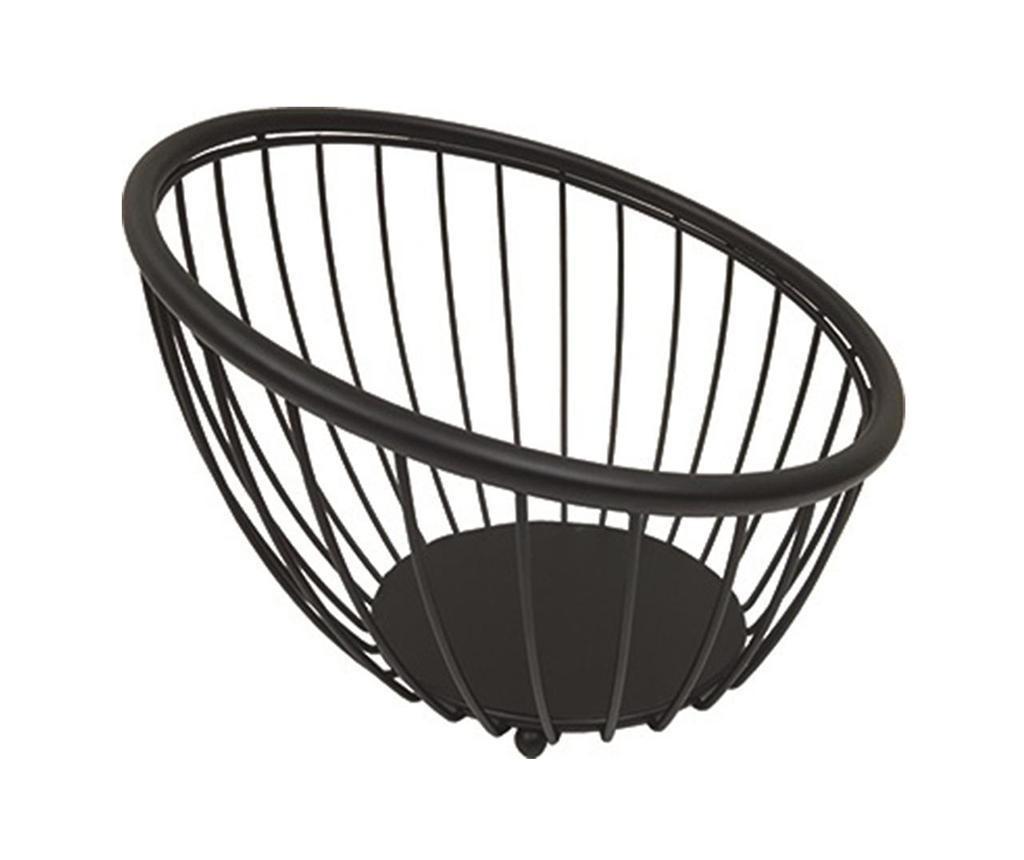 Fructiera Globe Black S