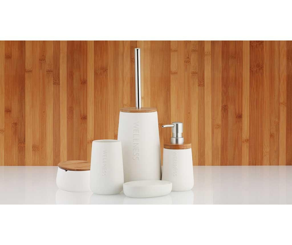 Bastian White WC-kefe tartóval