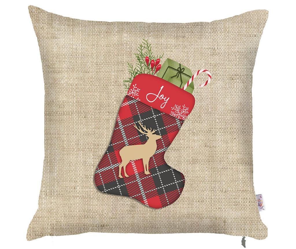 Povlak na polštář Christmas Joy 43x43 cm
