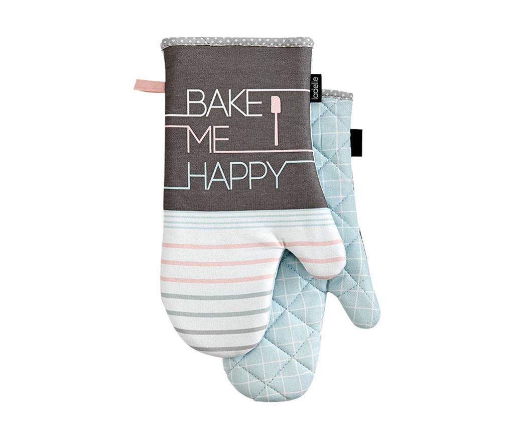 Set 2 manusi de bucatarie Bake Me Happy