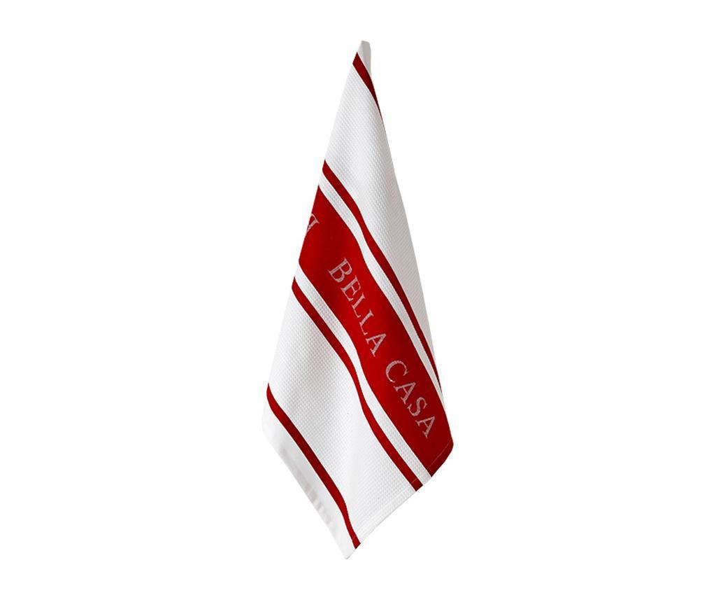 Kuhinjski ručnik Bella Casa Red 50x80 cm