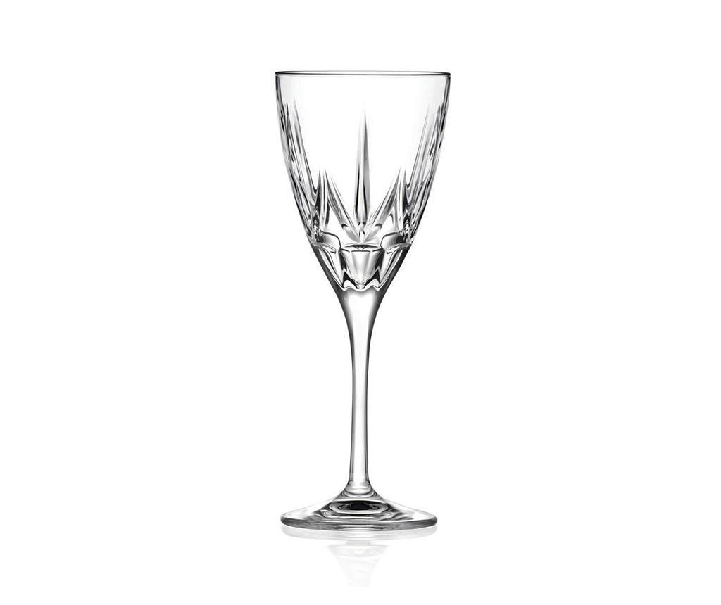 Set 6 čaša za crveno vino Chic 280 ml
