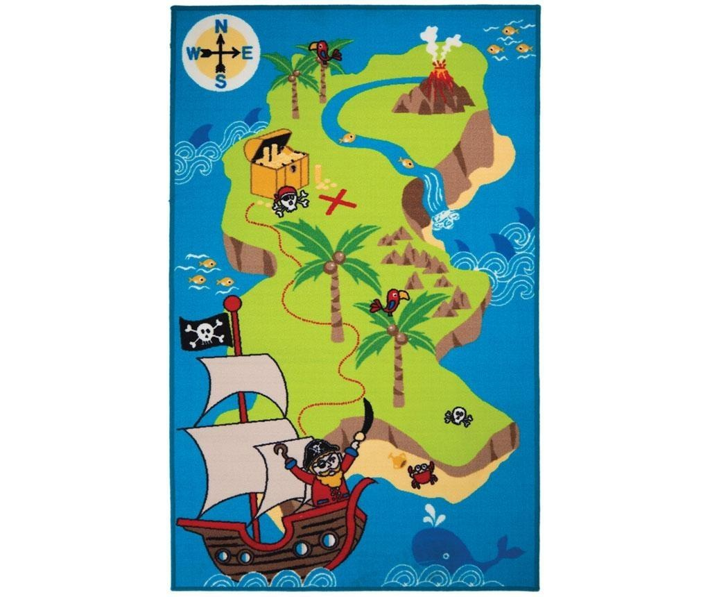 Tepih Pirate Map 100x160 cm