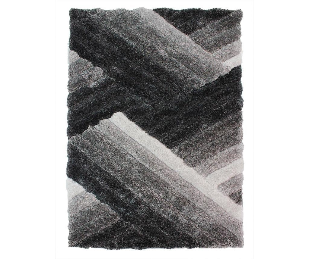 Lattice Grey and Silver Szőnyeg 120x170cm