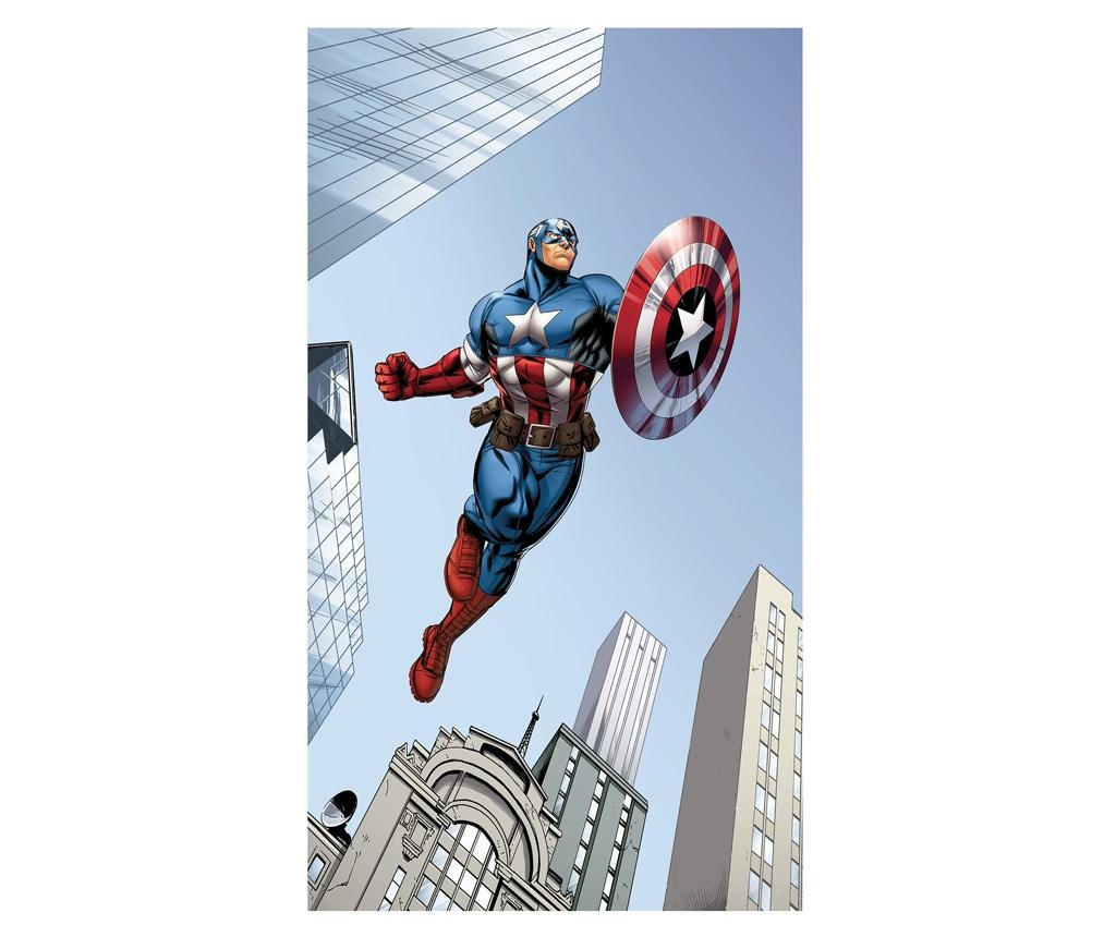 Captain America in Action Sötétítő 140x245 cm
