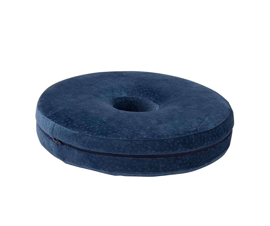 Perna ortopedica de sezut Memory Foam 40 cm