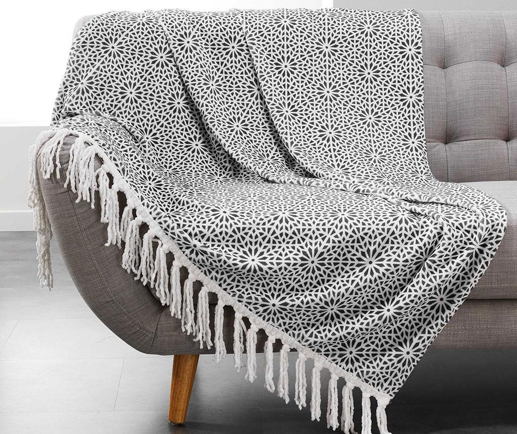 Priročna odeja Tunis Anthracite 125x150 cm