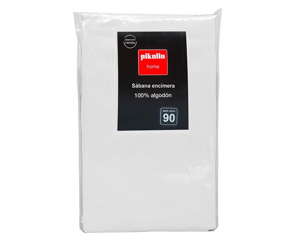 Cearsaf de pat Percale Quality White 260x280 cm