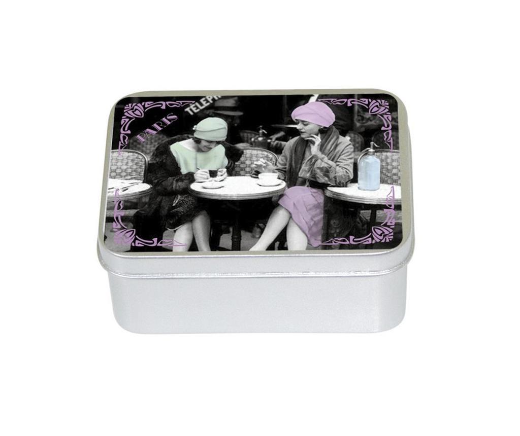 Sapun in cutie cu capac Les Parisiennes