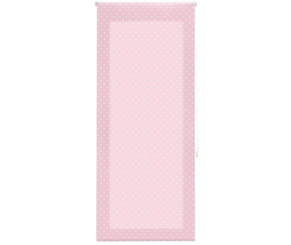 Rolo zavesa Dots Rose 100x250 cm