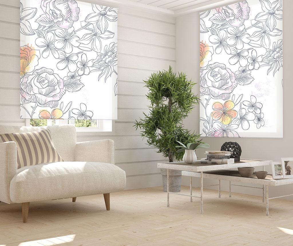 Jaluzea tip rulou Japan Blossom 160x250 cm