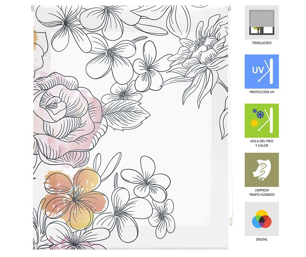 Jaluzea tip rulou Japan Blossom 140x180 cm