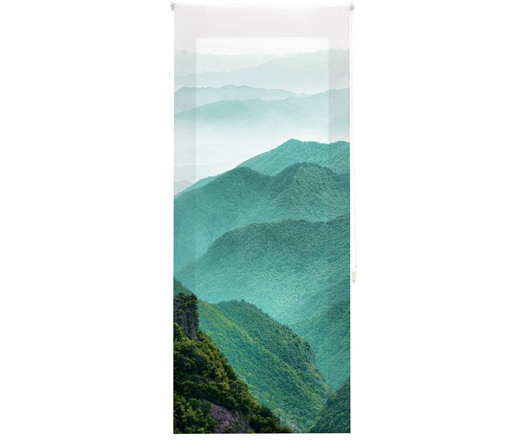 Jaluzea tip rulou Mountain Path 100x250 cm